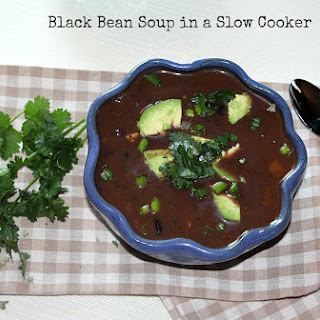 Black Bean Soup in a Slow Cooker