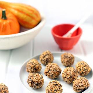 Pumpkin Spice Oatmeal Energy Balls