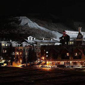 Park City, Utah by Lee Wimberly - City,  Street & Park  Vistas ( ski, utah, slope, snow, resort )