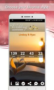 Wedding Countdown App 2020 / 2021 - náhled