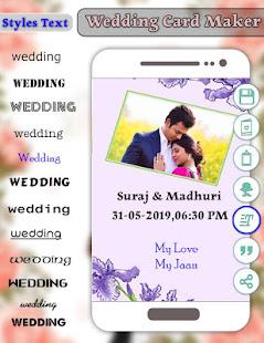 Download Wedding Card Maker : Invitation Card Maker For PC Windows and Mac apk screenshot 4