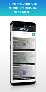 Prey Anti Theft: Find My Android & Mobile Security- screenshot thumbnail