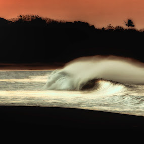 Morning waves by Trevor Murphy - Landscapes Waterscapes ( beaches, tmurphyphotography, surf )