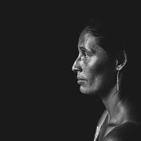 by Berman Gonzalez - People Portraits of Women