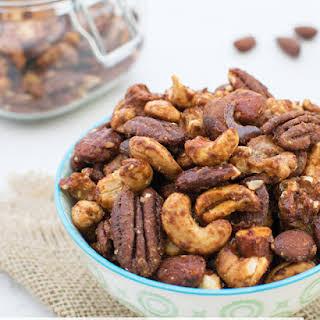 Maple & Smoked Paprika Spiced Nuts [vegan] [gluten free].