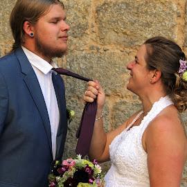 by Carola Mellentin - Wedding Bride & Groom