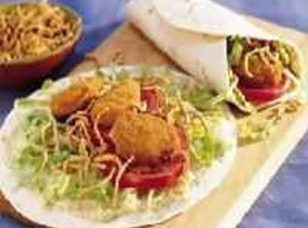 Crunchy Chicken Nugget Tacos Recipe