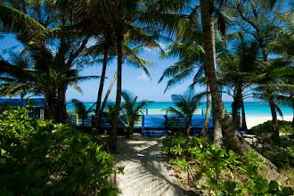 Photo: Walk to the Yoga Deck, Bahamas