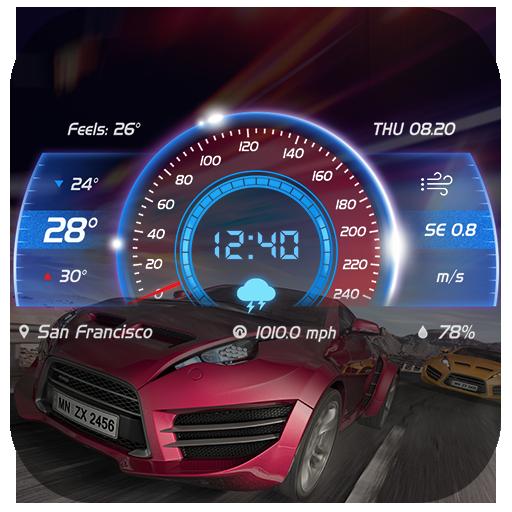Weather report app& weather widget
