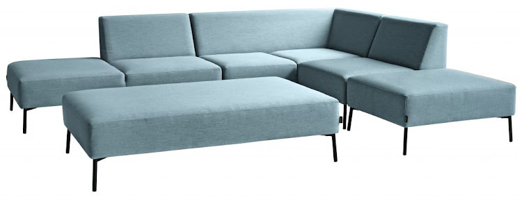 Riva outdoor lounge suite, available from Mobelli Furniture + Living.