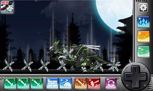 Ninja Velociraptor- Dino Robot - náhled