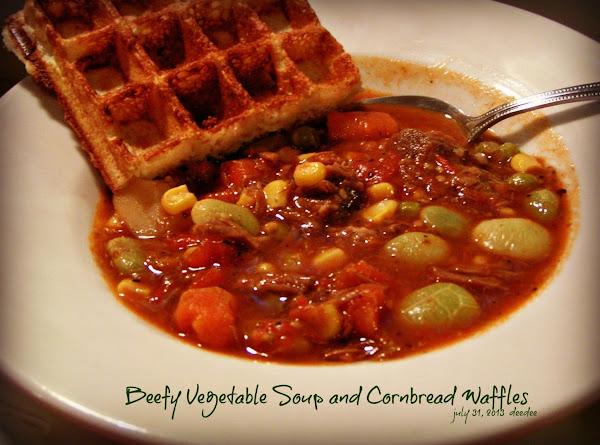 Beefy Vegetable Soup - Dee Dee's Recipe