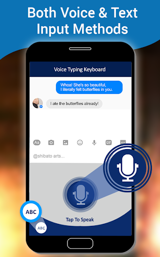English Voice Typing Keyboard u2013 Speak to text screenshots 5