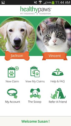Healthy Paws Pet Insurance App  screenshots 1