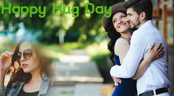 Hug Day Photo Frame 2018 - náhled