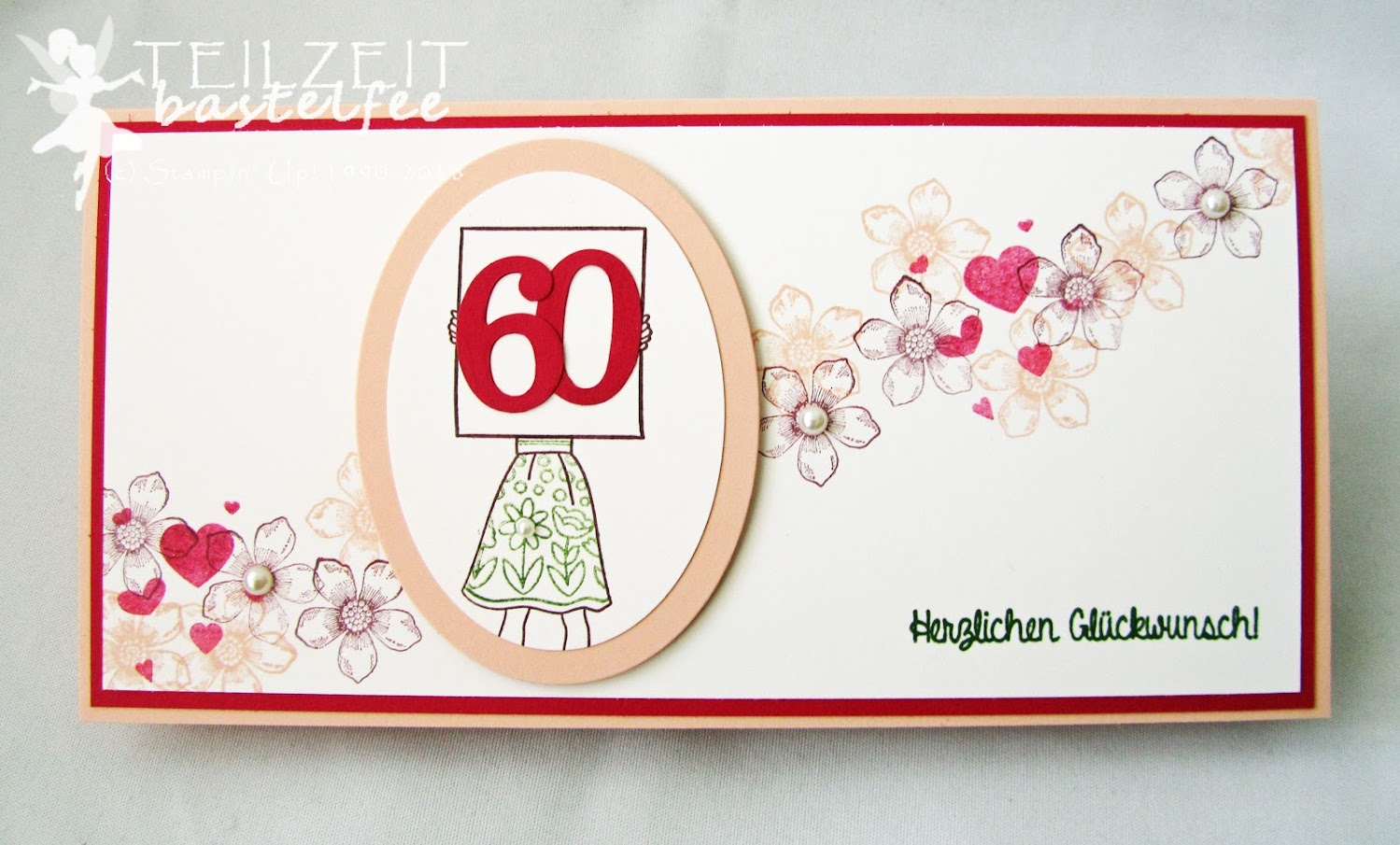 Stampin' Up! - Inkspire_me, Sketch Challenge, Color Challenge, Hand Delivered, Persönlich Überbracht, Geburtstag, Birthday, Petite Petals
