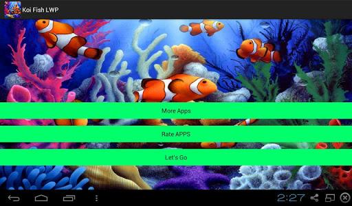 Koi Fish 3D LWP