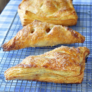 Apple Cinnamon Turnovers in Sour Cream Pastry