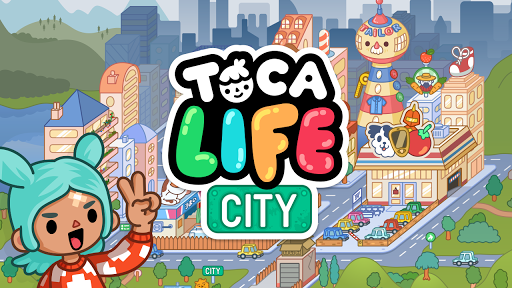 Toca Life: City app for Android screenshot