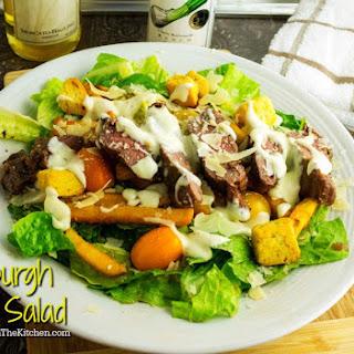 Pittsburgh Steak Salad #SundaySupper.