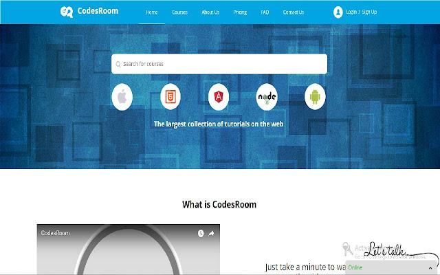 Codesroom Screen Share