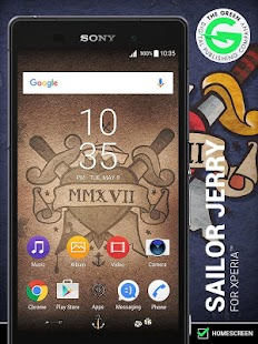 Sailor Jerry for Xperia™: miniatura de captura de pantalla