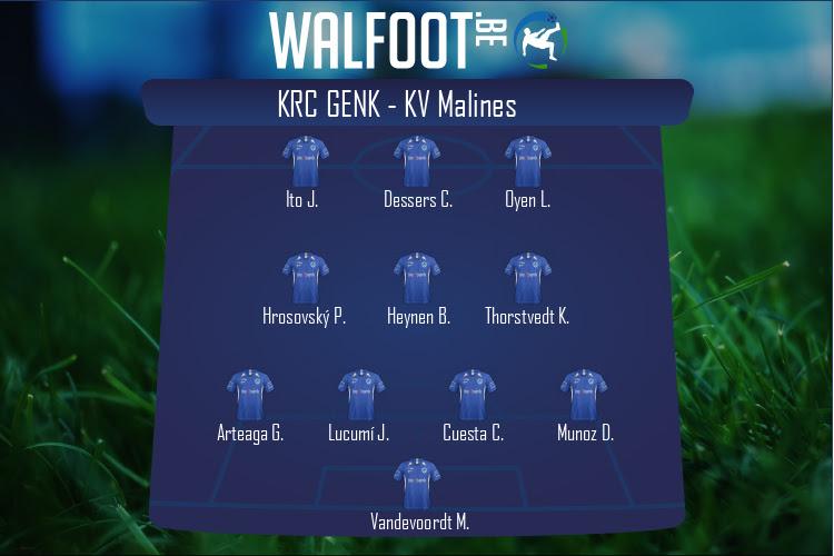 KRC Genk (KRC Genk - KV Malines)