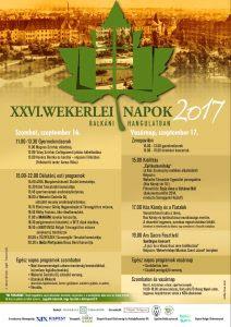 XXVI. Wekerlei Napok- balkáni hangulatban
