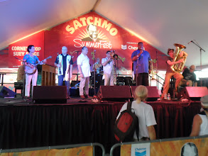 Photo: Satchmo Summerfest All-Stars including Tim Laughlin and Yoshio Toyama