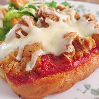 Chicken Parmesan Pizzas.