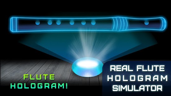 Real Flute Hologram Simulator - náhled
