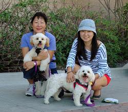 Photo: Sue, Kodi, Bishop, Sue