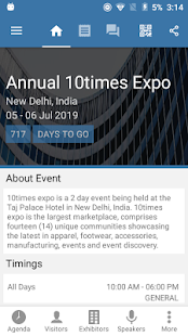 10times - Event App demo- screenshot thumbnail