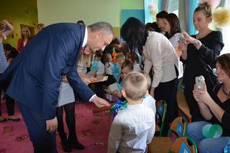 Photo: Ślubowanie przedszkolaków w nowo utworzonym Domowym Przedszkolu w Zespole Szkół w Słomnikach