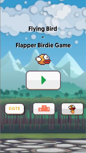 Flying Bird - Flapper Birdie Game apkbreak screenshots 1