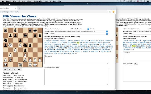 Chess viewer help.