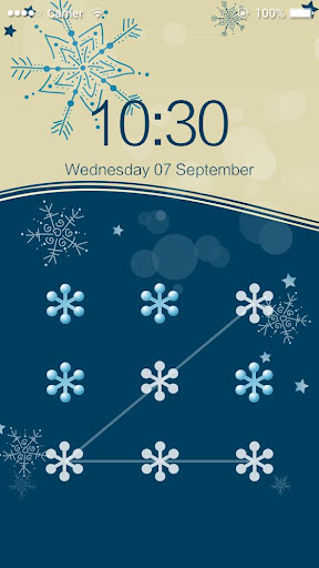 AppLock Theme Snow