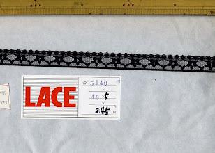 Photo: №5140ラッセル黒:巾17mm