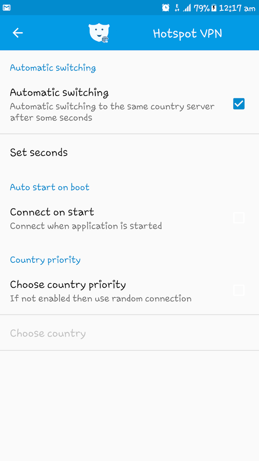 AndroVPN - Fast VPN Proxy & Wifi Privacy Security- screenshot
