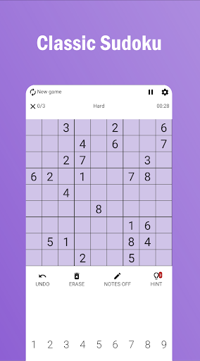 Sudoku Pro 1.20 screenshots 1