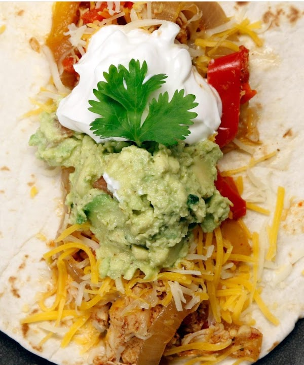 For serving: (optional) Flour TortillasCheeseSour Cream Guacamole *To make your own Taco Seasoning at...