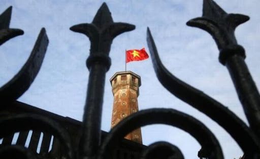 A Vietnamese national flag. Picture: REUTERS