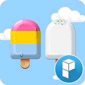IceCream launcher theme