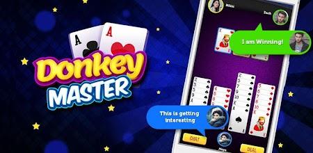 Donkey Master: Donkey Card Game APK poster