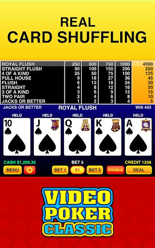 Video Poker Classic Free apktram screenshots 3