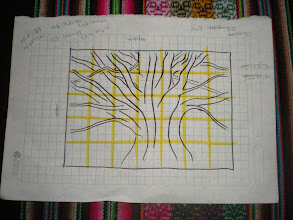 Photo: Redrawing the tree.