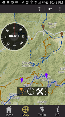 android Conasauga Ranger District Screenshot 2