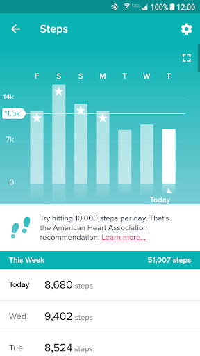 Screenshot for Fitbit in United States Play Store