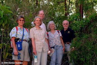 Photo: 2004 Ironwood Forest walkers,  3 months before Hurricane Ivan.  Photo: Denise Bodden June 5, 2004