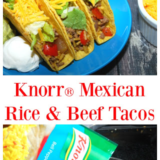 Knorr® Mexican Rice & Beef Tacos.